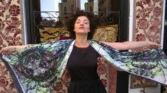 The stunning Simonetta De Simone, @simonettads with her extraordinary design!