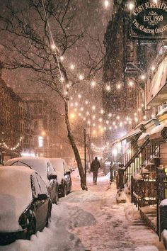 Winter's Night, New York Fascinating Pictures (@Fascinatingpics) | Twitter