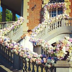 Statement entrance and exit! Heavenly stairway by @karentranevents at the…