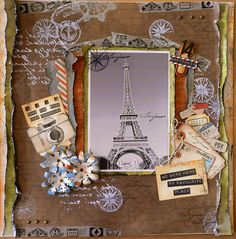 WE were HERE - Kaisercraft - with Wanderlust paper collection