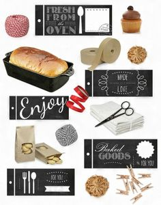 Free printable baked with love tags ausdruckbare etiketten free printable baked with love tags ausdruckbare etiketten freebie free printable christmas gifts and free negle Images
