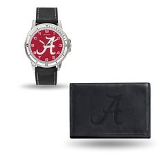 Alabama Crimson Tide NCAA Watch and Wallet Set (Chicago Watch)