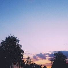 #sunset #colorful #sunsetporn #blue #trees #summer #cloudy #warm #clouds #photooftheday #pink #instagood #sky #skystyles_gf by motleymeadow