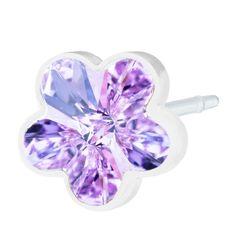 Blomdahl MP Flower 6mm Violet B