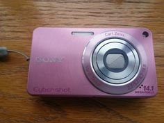 Sony Cyber-shot DSC-W350 14.1 MP Digital Camera Pink w/Charger/Memory Card Euc #Sony $64 OBO FREE SHIP