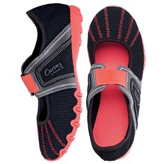 You will love this product from Avon:  Curves for Women Stretchy Trail Shoe - www.youravon.com/kellyolsen