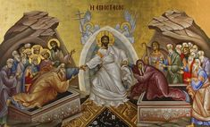 londinoupolis: Christ Is Risen. Photography Illustration, Art Photography, Paint Icon, Christ Is Risen, Jesus Christ, Religious Pictures, Byzantine Icons, Orthodox Christianity, Orthodox Icons