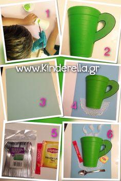 Παγκόσμια ημέρα Τρίτης ηλικίας/grandparents day/ www.kinderella.gr Handmade Crafts, Easy Crafts, Diy And Crafts, Crafts For Kids, Arts And Crafts, Grandparents Day Crafts, Parchment Craft, Play To Learn, Craft Activities