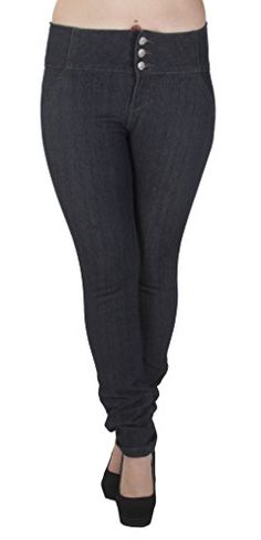 Fashion Bug Plus Size High Waist, Butt Lifting, Skinny Leg Jeans #bbw www.fashionbug.us #PlusSize #Jeans