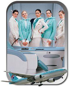 Korean Air. One of my favorite uniforms. http://www.incheonairporttravel.com