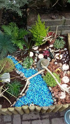 Read all about how we made our dinosaur garden and how I overcame my control-freakery to let them play with it.