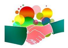 Kézfogás, Férfi, Nő, Együttműködés, Team