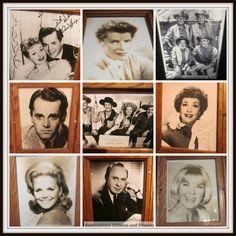 movie star photos at El Rancho Hotel in Gallup, New Mexico