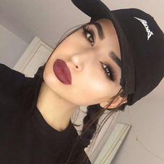 grafika girl, beauty, and lips Makeup Goals, Makeup Inspo, Makeup Inspiration, Makeup Tips, Beauty Makeup, Eye Makeup, Hair Makeup, Hair Beauty, Makeup Tutorials