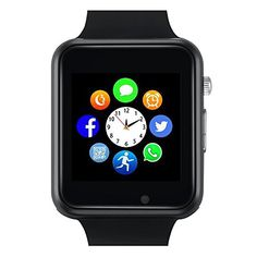 Welcome to my blog exactly where we will be looking at the new Bluetooth Smart Watch – Sazooy Touch Screen Smart Wrist Watch Smartwatch Phone With Camera Pedometer SIM TF Card Slot for iPhone IOS Samsung LG Android for Men Women Kids (Black).  The Bluetooth Smart Watch – Sazooy...