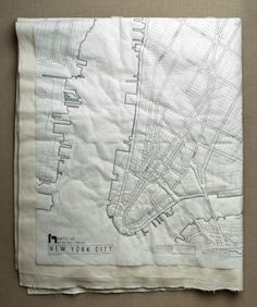 New! DIY Map Quilt Patterns from Haptic Lab - the purl bee