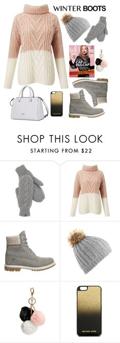 """👢👑Winter boots👢👑"" by nkaminska ❤ liked on Polyvore featuring The North Face, Miss Selfridge, Timberland, GUESS and MICHAEL Michael Kors"