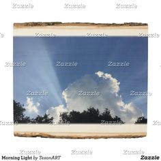 Morning Light Wood Panel