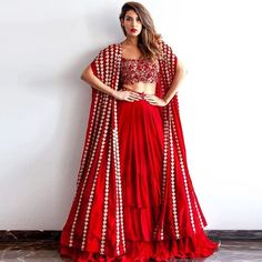 25 Latest Navratri Special Chaniya Cholis and Ghaghra Cholis Design Collection with Pictures 2019 - Buy lehenga choli online Choli Designs, Lehenga Designs, Indian Wedding Outfits, Bridal Outfits, Indian Outfits, Red Outfits, Indian Weddings, Classy Outfits, Look Fashion