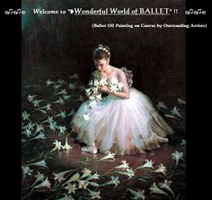 ❥Ballet Oil Painting on canvas https://www.facebook.com/groups/W.W.Ballet/