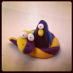 This is love! #handmade #puppacci #snake #monocle