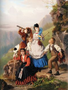 Charles Edouard Boutibonne: The Young Mountaineers