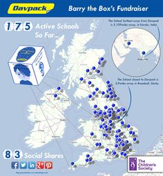 Barry the Box's Fundraising Journey - Davpack Packaging Materials Inverness, Dundee, Together We Can, Vulnerability, Fundraising, Childhood, Journey, Packaging, Children