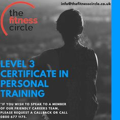 Level 3 Certificate in Personal Training: Qualify as a Personal Trainer with The Fitness Circle and enjoy the most up-to-date training, flexible delivery and the benefit of 20 years experience. Gym Group, Personal Training Courses, Cardiovascular Training, Becoming A Personal Trainer, Core Stability, Endocrine System, Blended Learning, Marketing Techniques, Level 3