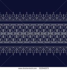Geometric Ethnic pattern design for background,carpet,wallpaper,clothing,wrapping,Batik,fabric,Vector illustration.embroidery style. Indian Embroidery, Ethnic Patterns, Sterling Jewelry, All Craft, Illustrations, Tambour, Pattern Design, City Photo, Photos