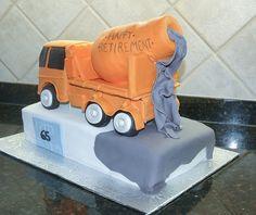D Tow Truck Cake Pan
