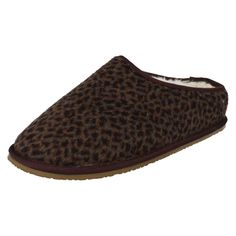 Clarks Ladies Warmlined Mule Slippers 'Adella Alpine'