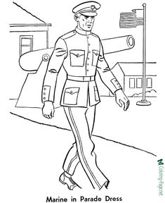 soldier coloring pages for kids | How to Draw a Soldier: 10 Steps (with Pictures) - wikiHow ...