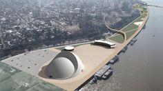 Oscar Niemeyer | Puerto de la Música, Rosário, Argentina (2008)