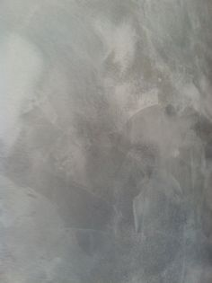 Ancient gray & Snowflake white Lusterstone wall by Dirk Van Vuren - UnFAUXgetteble Finishes