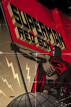 Superman: Red Son by Dave Johnson