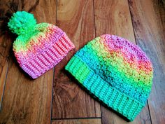 Free Crochet Pattern- The Michelle Hat – Two Brothers Blankets