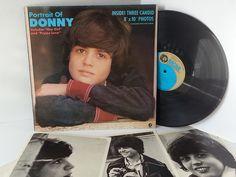 DONNY OSMOND portrait of donny, 2315108, includes three 8x10 - SOUNTRACKS, COMEDY, POP, VARIOUS ARTISTS, MISC. #LP Heads, #BetterOnVinyl, #Vinyl LP's
