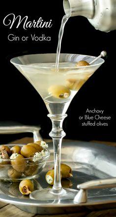 Classic Martini {Gin or Vodka}