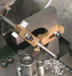 Travelling Steady, following Rest, using Mini Cnc Lathe, Metal Lathe Tools, Metal Lathe Projects, Wood Lathe, Metal Working Machines, Metal Working Tools, Cnc Lathe Machine, Machine Tools, Metal Shaping