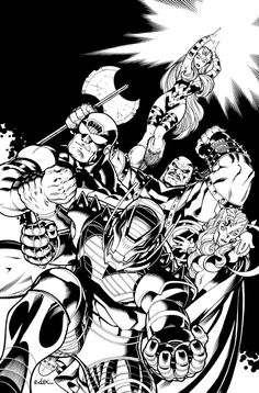 onslaught cover by EdMcGuinness on DeviantArt
