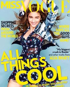 Alia-Bhatt-MISS VOGUE Cover page