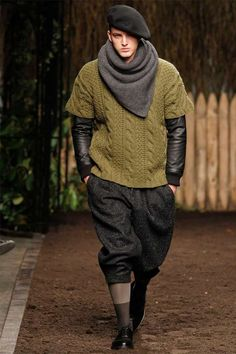 The Robert Geller Fall/Winter 2012 Line is Stylishly Diverse #mensfashion #topfashiontrends