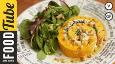 Roasted Squash & Goats Cheese Roulade | French Guy Cooking (Gluten-free Christmas recipe)