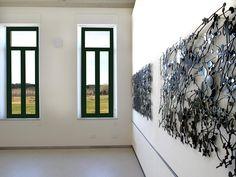 """me gusta Jan Hendrix """"El marco natural"""" por Amando Casado by Fundación Cerezales Antonino y Cinia, via Flickr"""