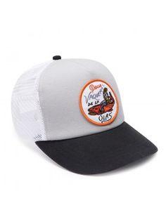 DEUS Kappe Trucker Vaqueros - grey Deus Ex Machina, Baseball Hats, Pets, Grey, Accessories, Cowboys, Caps Hats, Gray, Baseball Caps