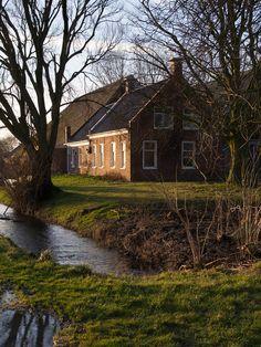 Boerderij, Hornhuizen, Groningen.