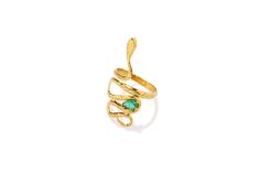 Composizione: anello in oro 18 carati smeraldo naturale