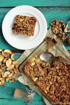 Delicious blog: Pečená jablečná kaše Cereal, Cooking, Breakfast, Blog, Recipes, Children, Fit, Kitchen, Morning Coffee