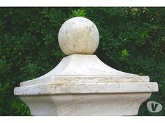 Photos Vivastreet Chapeau de pilier boule en pierre reconstituee
