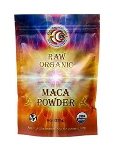 Earth Circle Organics Raw Organic Maca Powder 8 Ounce -- Check out this great product.